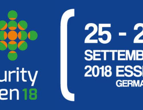 SECURITY ESSEN 18 – Il futuro della sicurezza